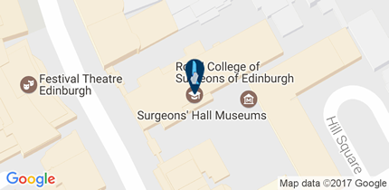 RCSEd Edinburgh - click for a larger map