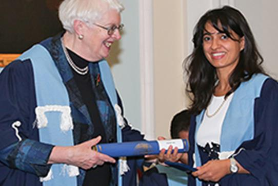 Edinburgh Female Surgeon Awarded Prestigious Medal - Read more
