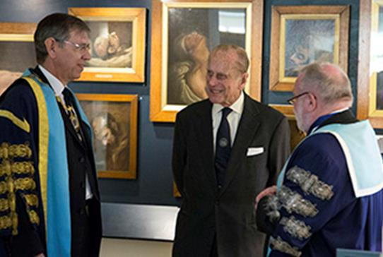 HRH Prince Philip Opens Surgeons' Hall Museums - Read more