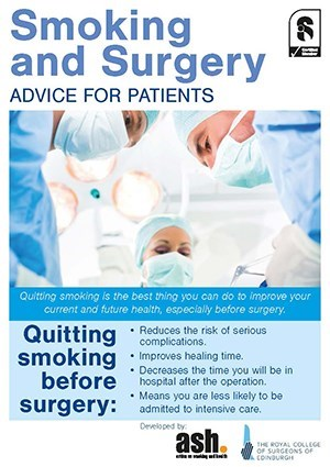 Smoking and Surgery | RCSEd