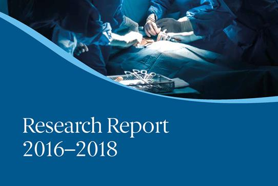 RCSEd Research Report 2016-2018 - Read more