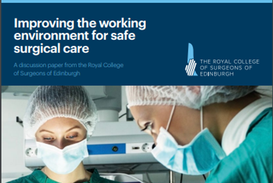 RCSEd welcomes GMC announcement regarding annual national training survey - Read more