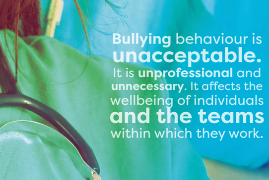 UK health organisations launch an anti-bullying and undermining resource - Read more