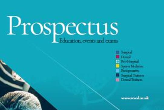 Introducing the RCSEd Prospectus - Read more