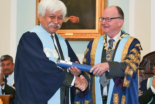 Honorary Fellowship for Malaysian Ruler - Read more