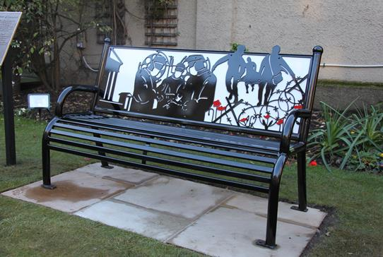RCSEd Honours Military Surgeons with Memorial Bench - Read more