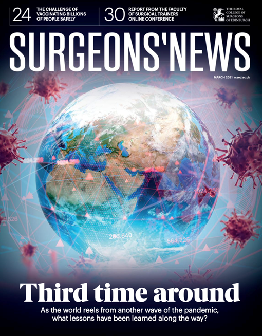 Surgeons' News March 2021